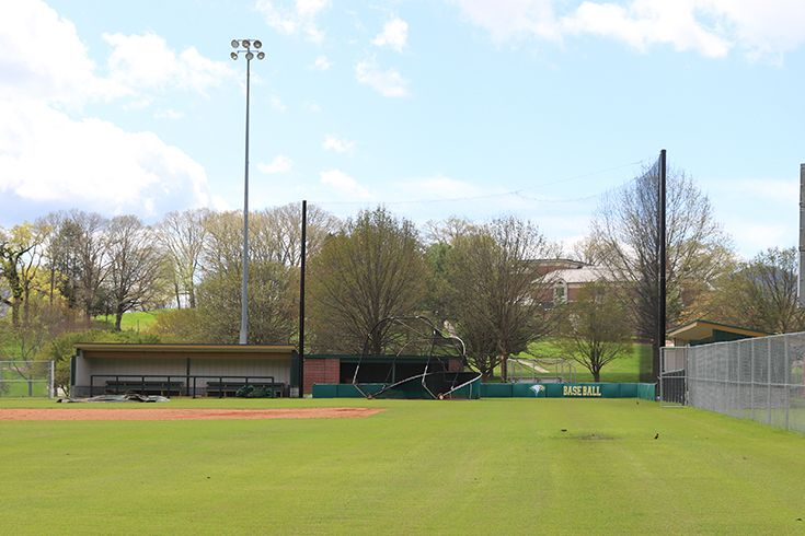 Complete renovations to the baseball complex were completed in 2019.