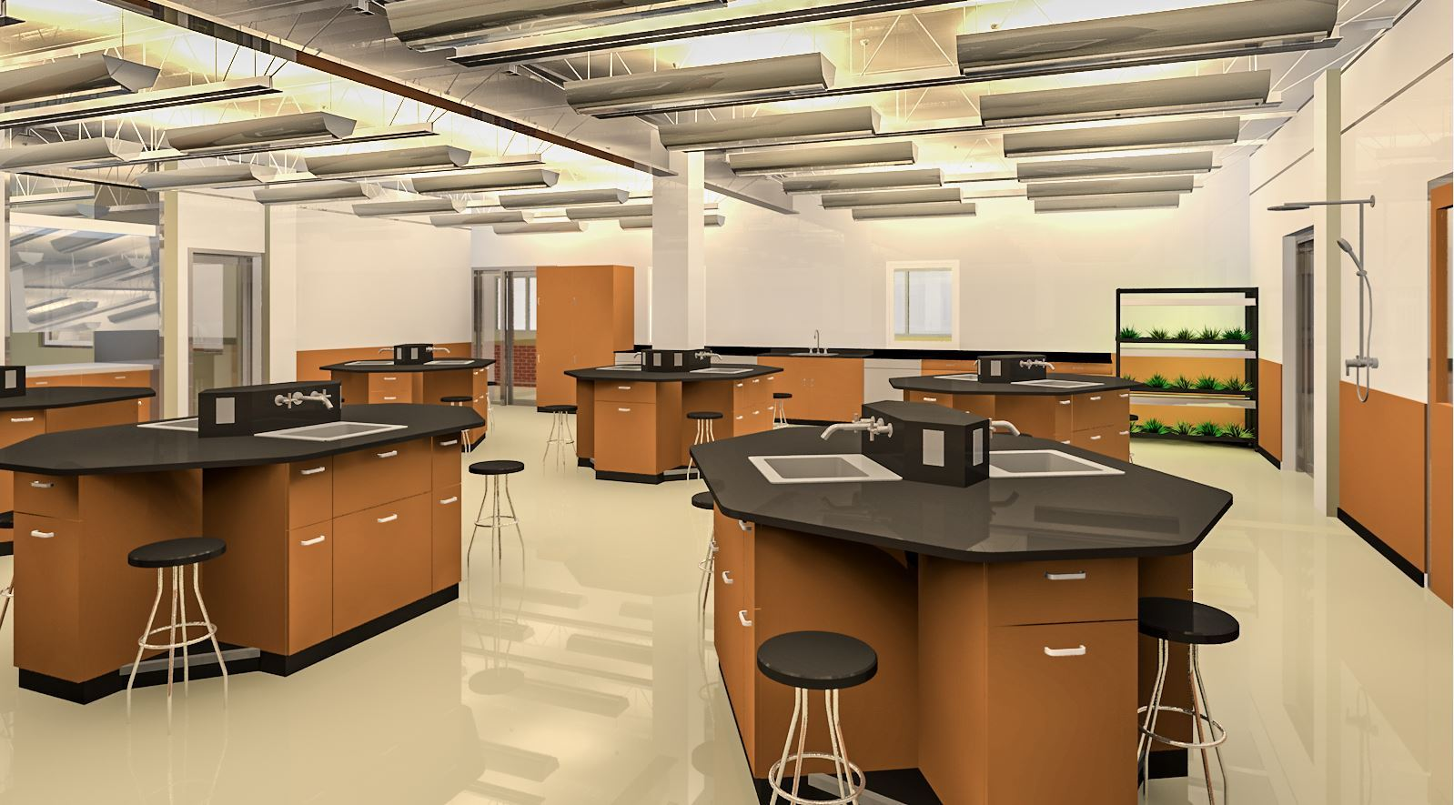 Science Lab - Upper Level
