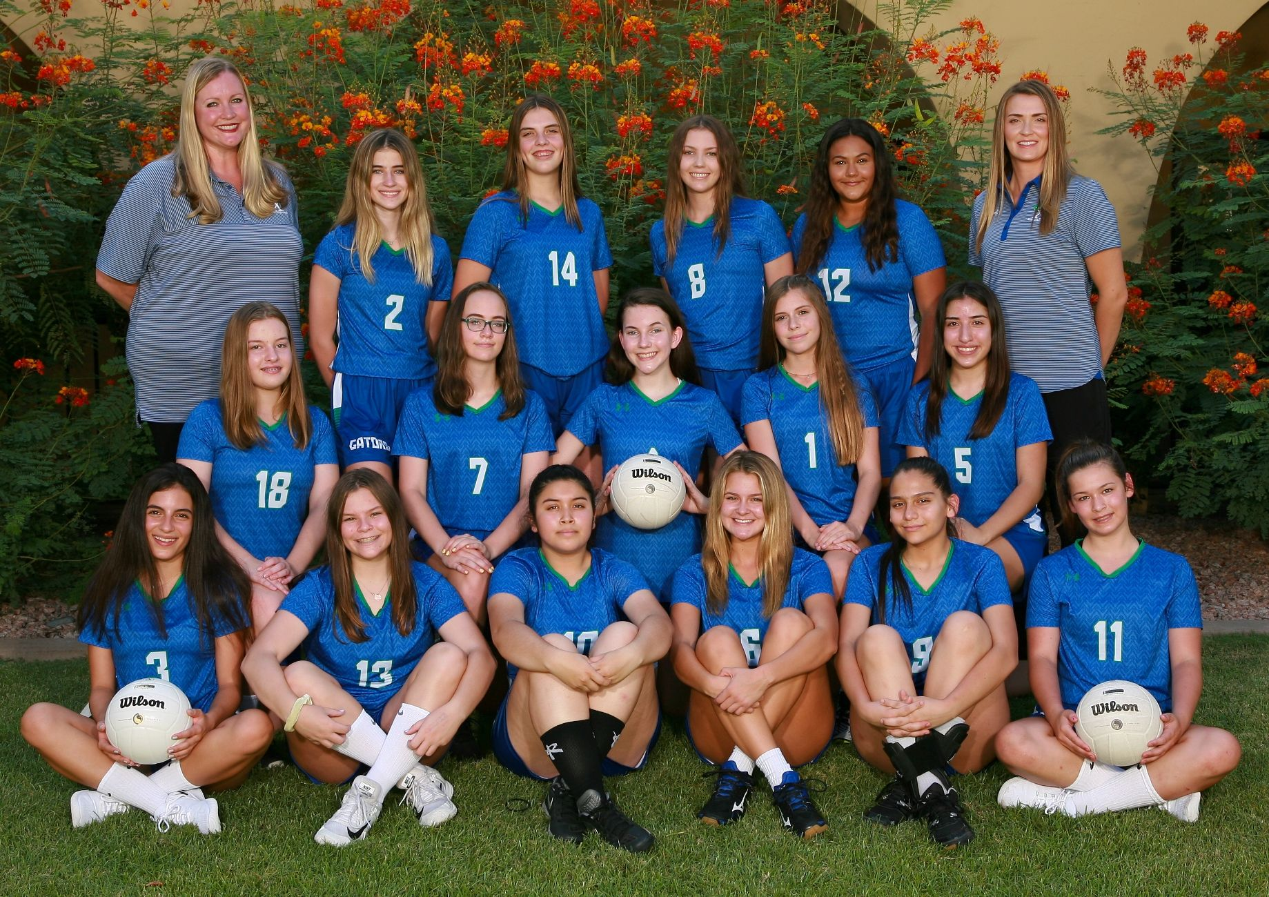 Frosh Volleyball 2018-19 . . . . . Duke Photography