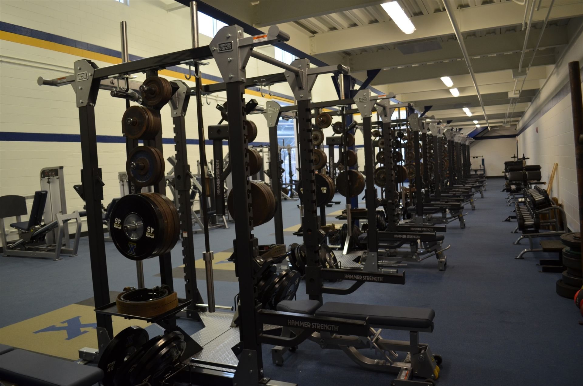 Xaverian Brothers | Domenic Lalli Strength and Conditioning Center