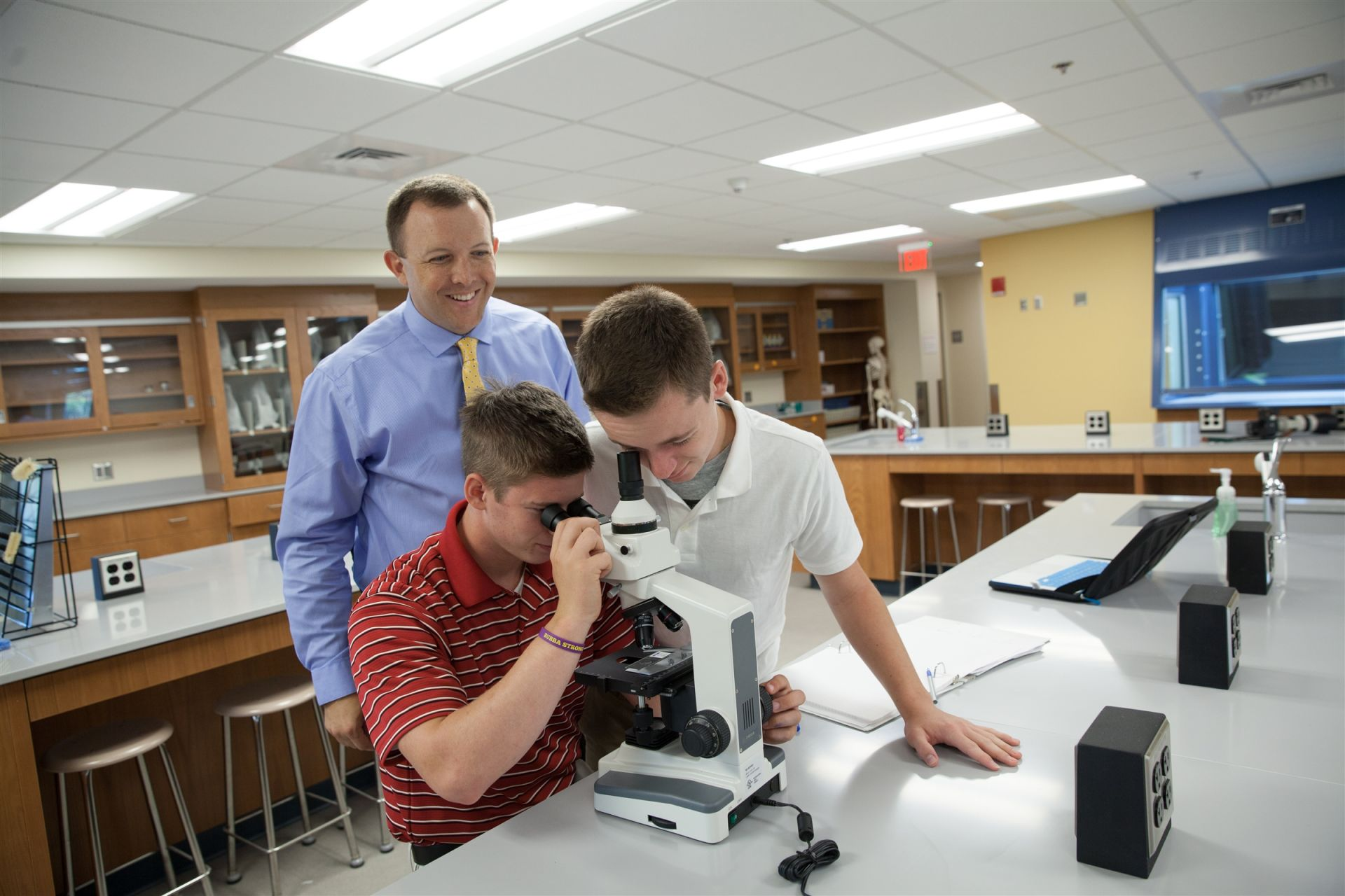 There are 5 science labs on the Xaverian campus.