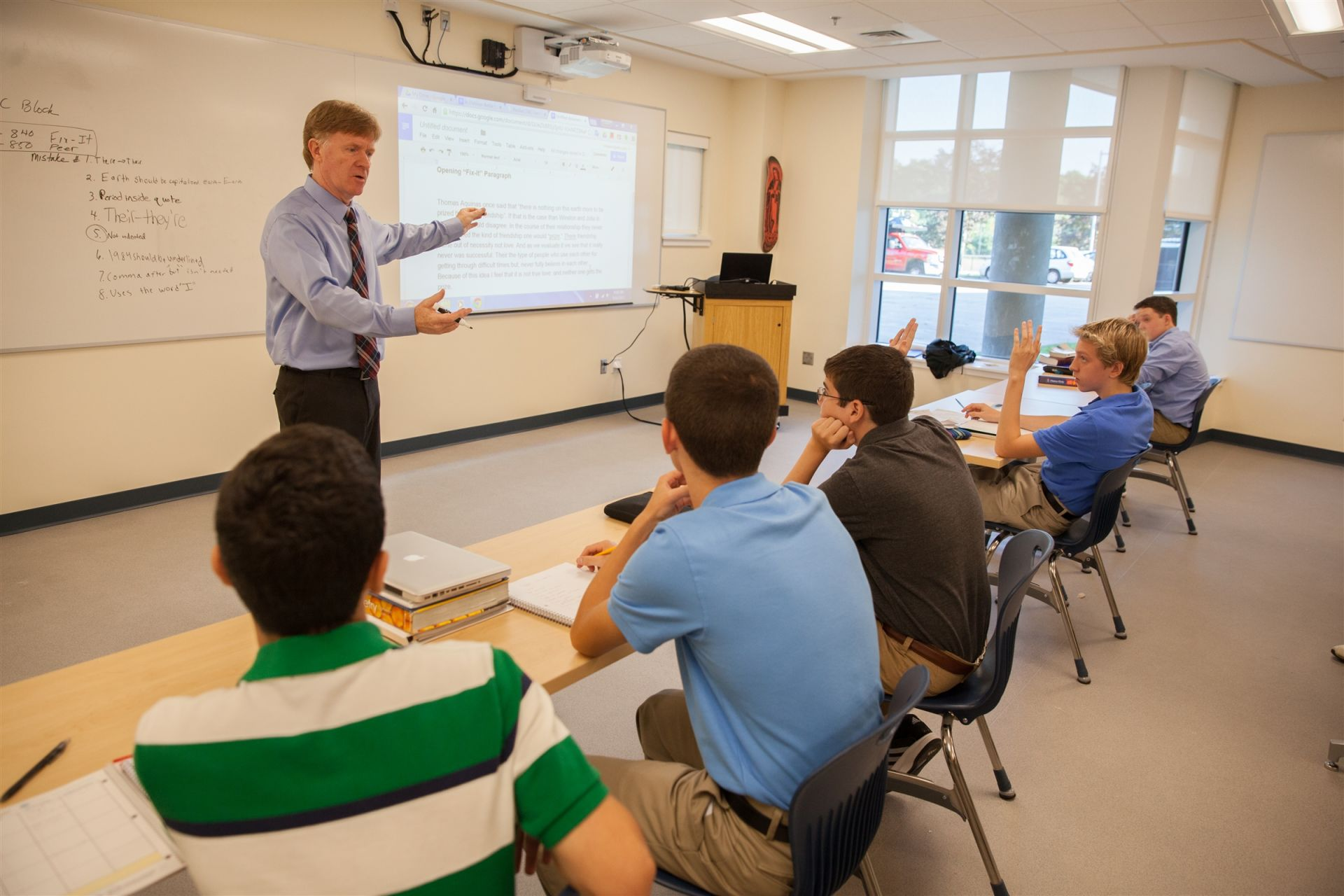91% of Xaverian faculty members hold Graduate Degrees.