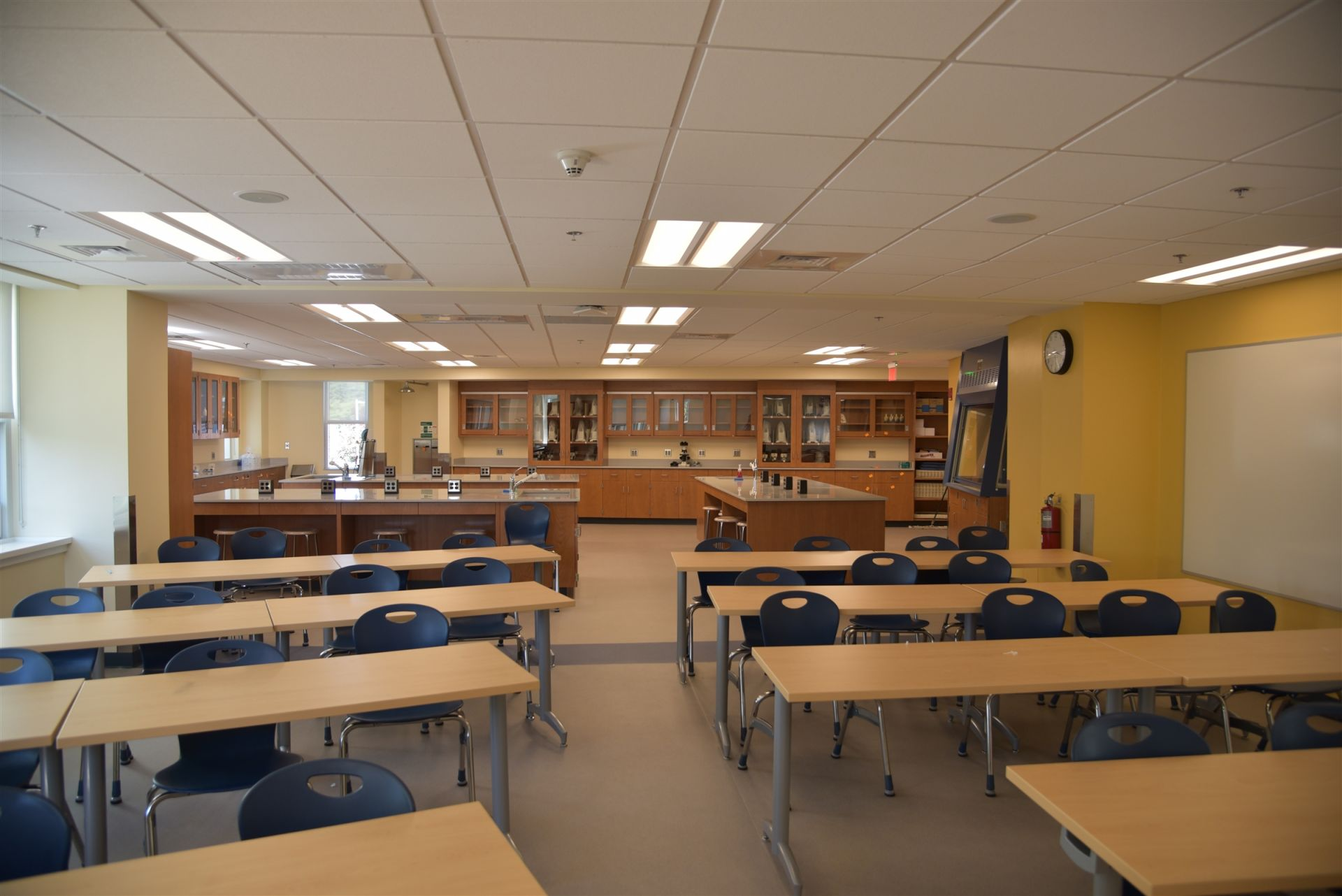 The 1,700 square-foot lab space was added in 2015.