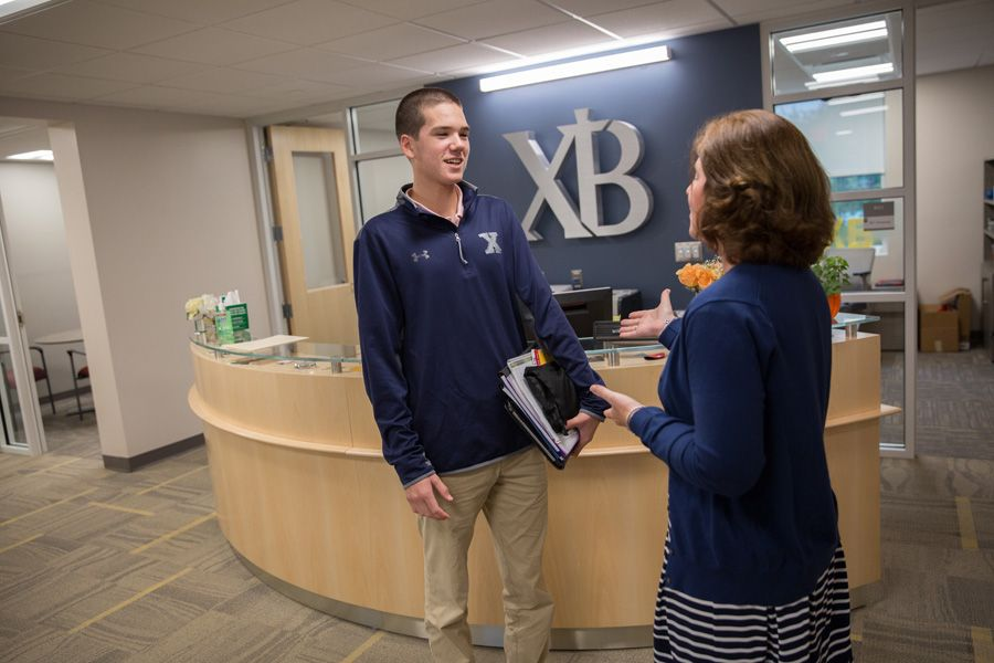 The Ryken Wing renovations to Counseling, Admissions, and Advancement are revealed as school opens, as well as the renovated Ruth Kennedy Library