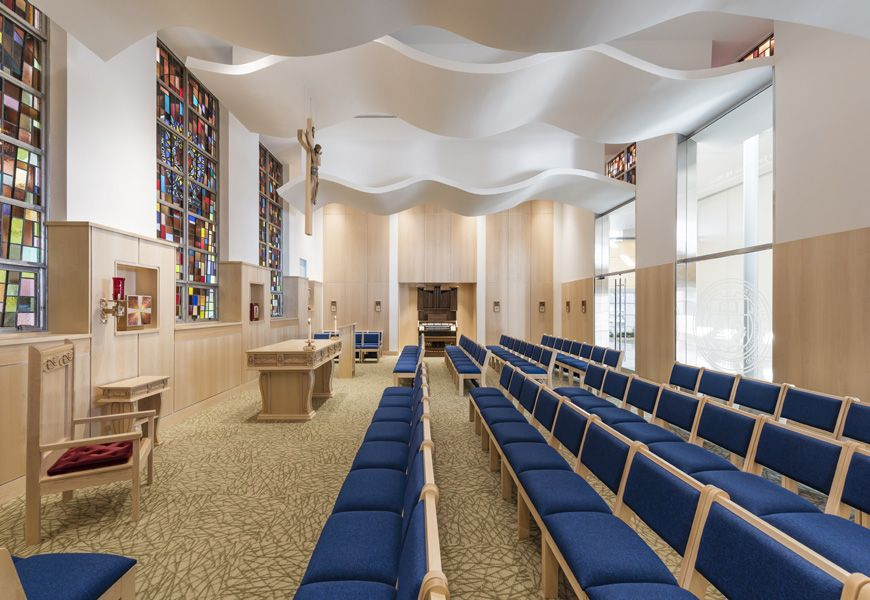 The Josephine M. Noble Chapel renovations are completed
