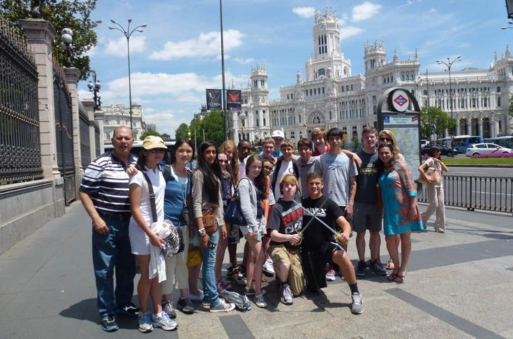 Students live with a local family and experience everyday life in a culture distinct from their own.  Something as simple as visiting the market daily to buy groceries can lead to deeper cultural reflection. Many students also gain proficiency in their host country's language. Read about our student exchange with a school in Spain.  Sample destinations: Vigo & Pontevedra, Spain; Lille, France; and Beijing, China.