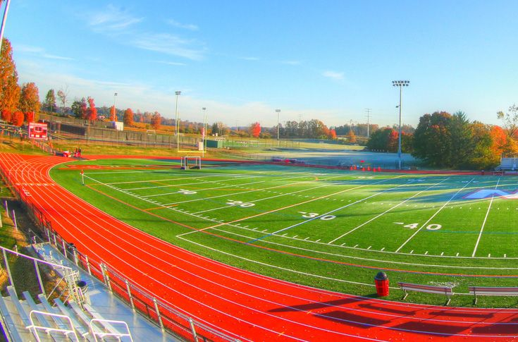 The Track Complex can accommodate all track and field events and features a six-lane, 1/4-mile track, triple and long jump pits, a high jump and pole vault.