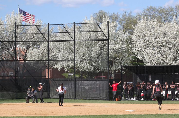 The Softball Diamond was recently completely renovated with an upgraded field and the addition of a dugout.