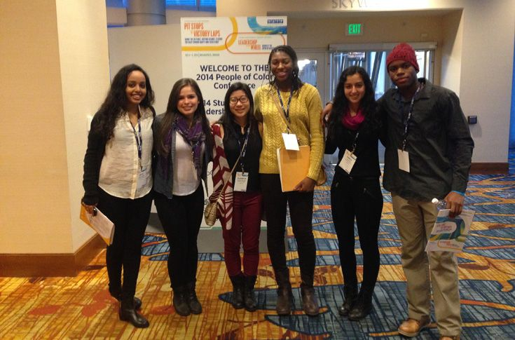 NA students at the NAIS Student Diversity Leadership Conference in Indianapolis