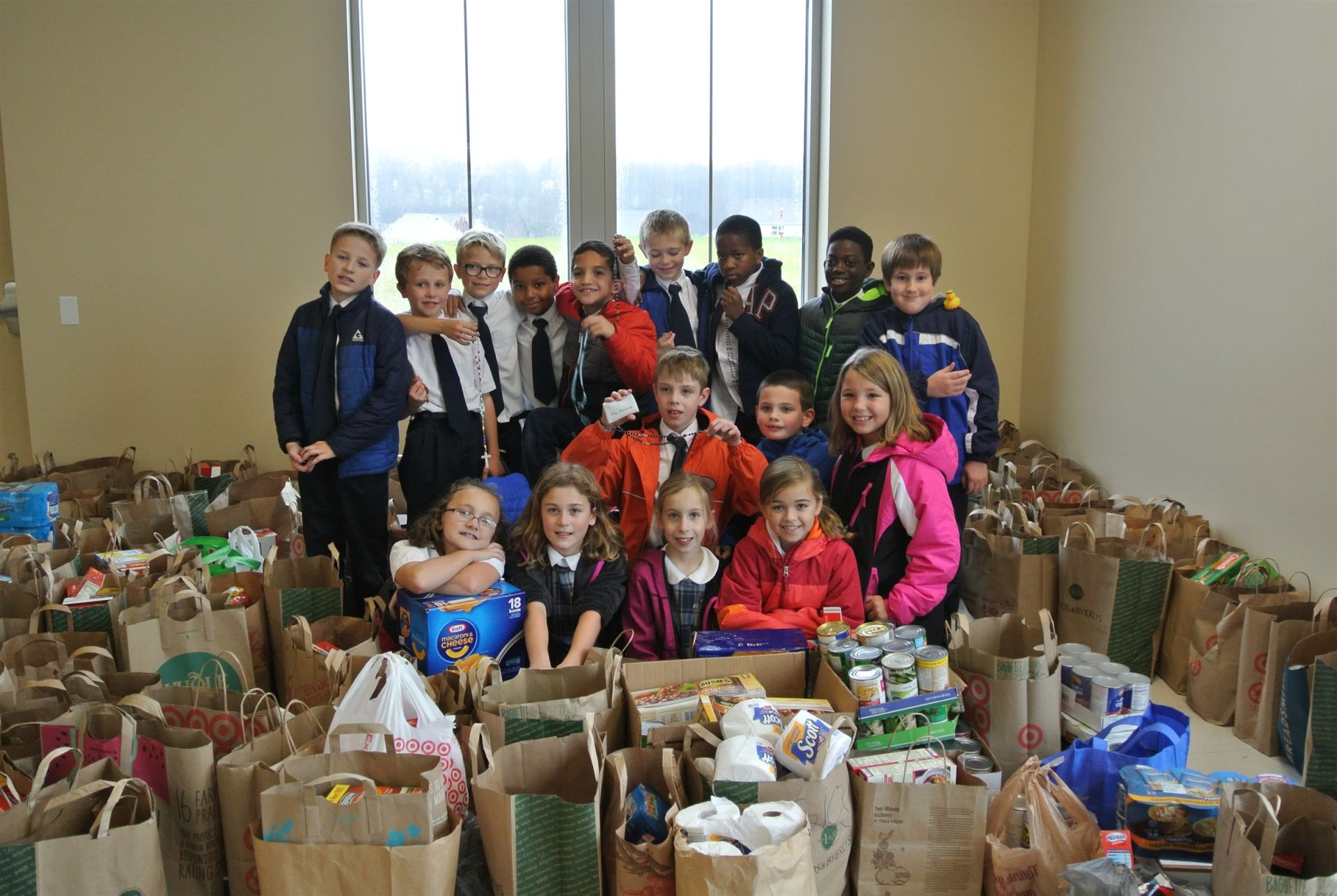 Franciscan Brothers of Peace Food Drive
