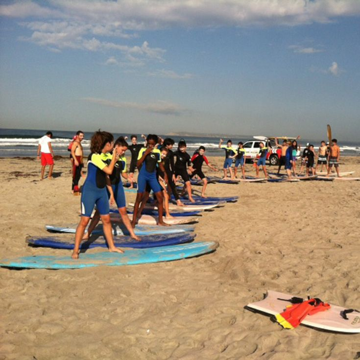 7th Grade Surf Camp