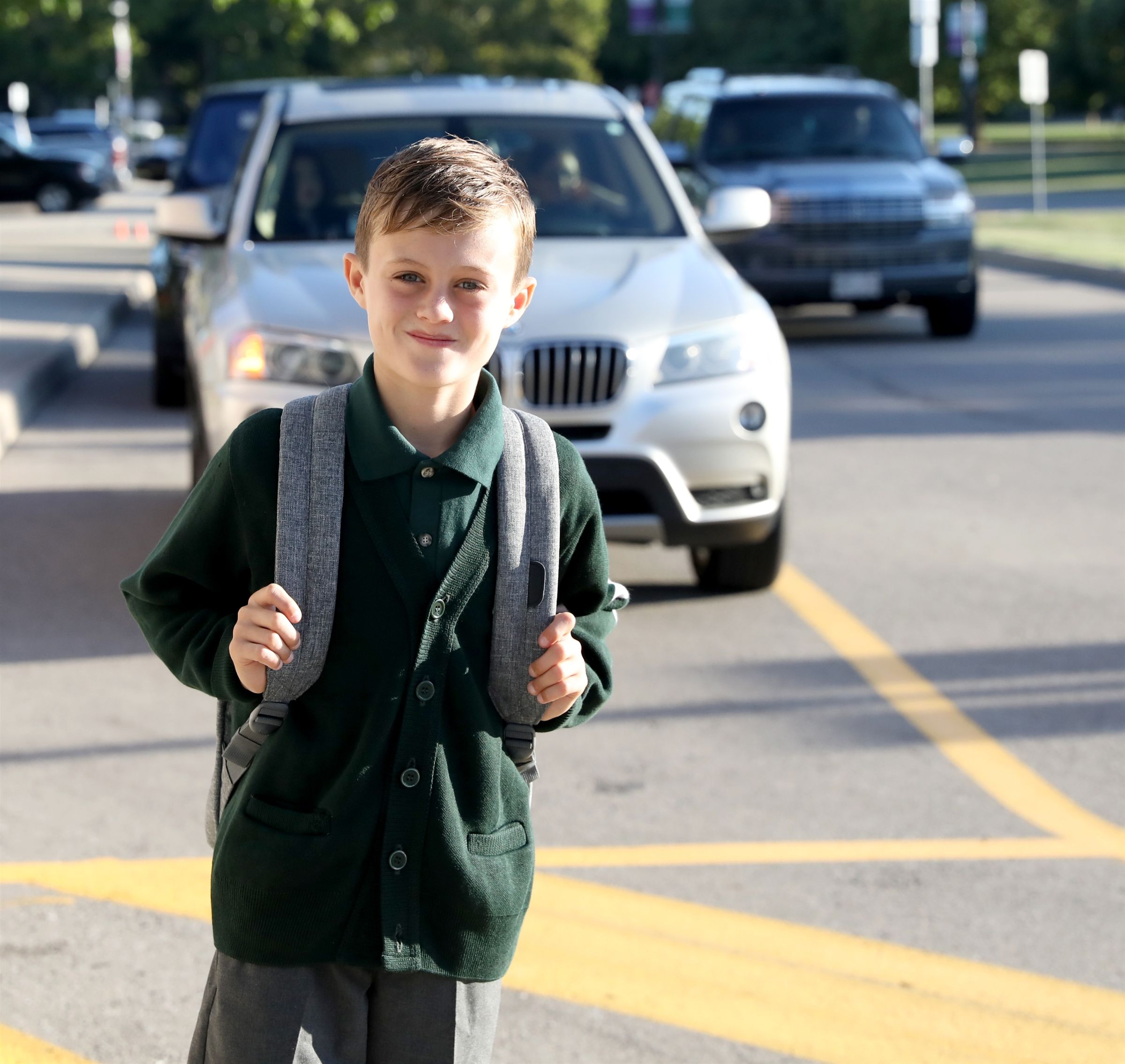 Discover - first day of school