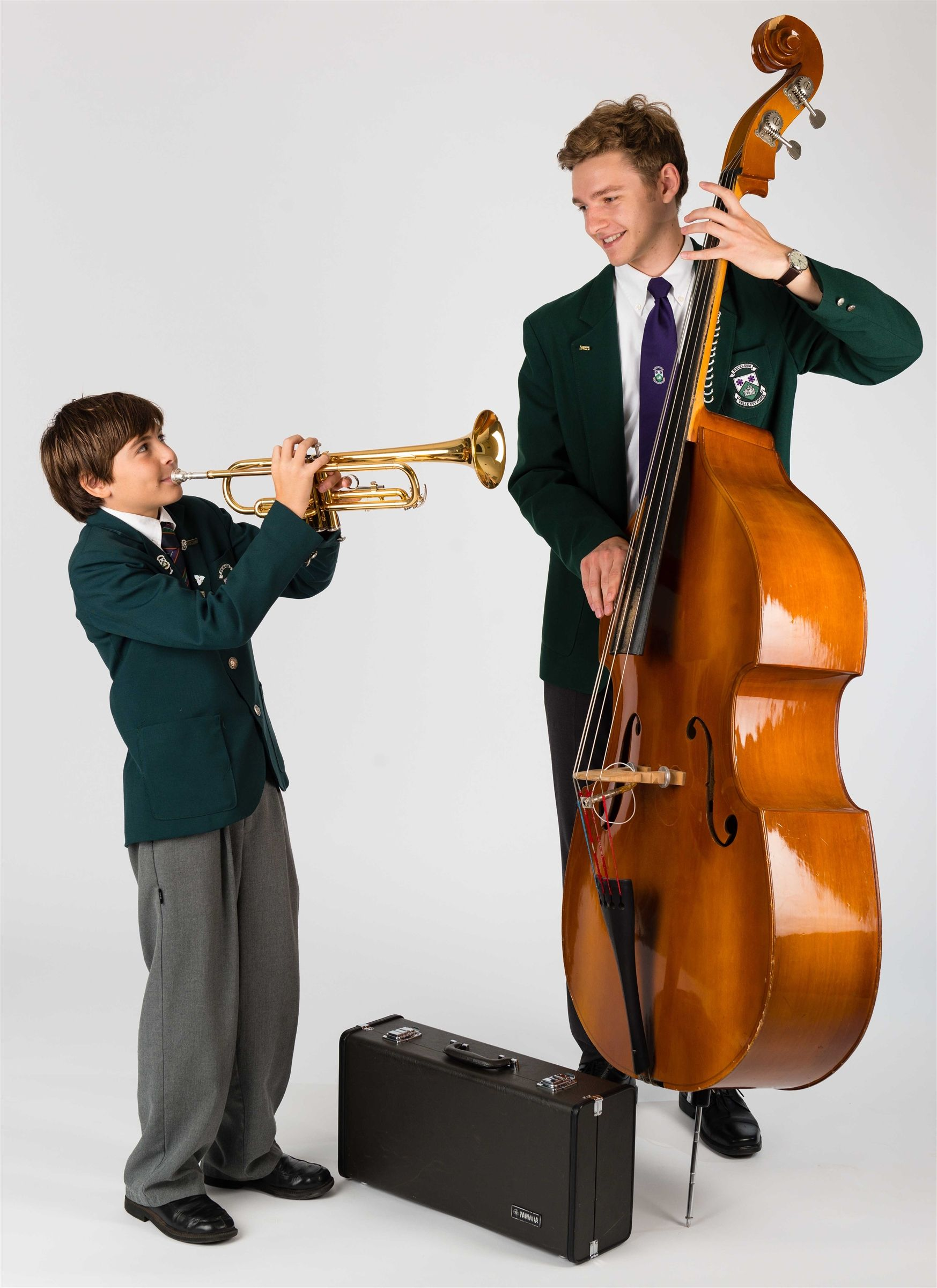 Excellence Campaign - Students playing musical instruments