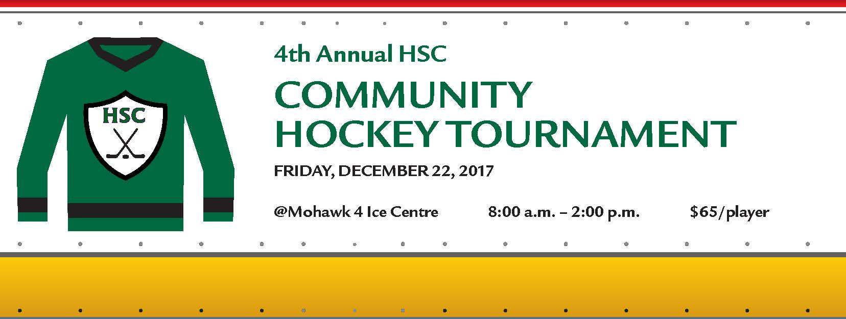 Alumni Hockey Tournament Banner Image