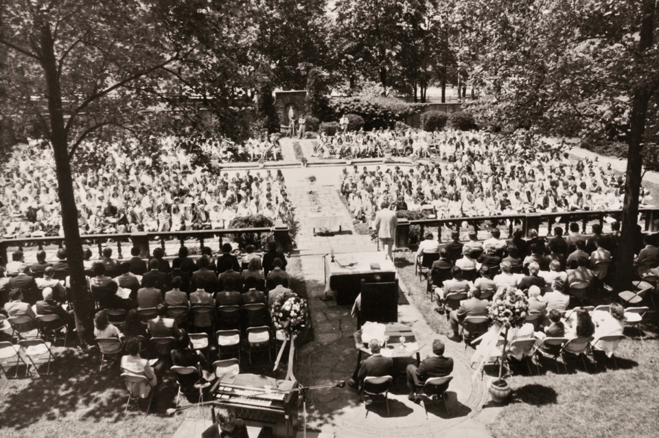 Early Gilmour Commencement