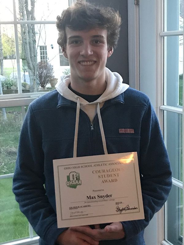 OHSAA Courageous Student Award