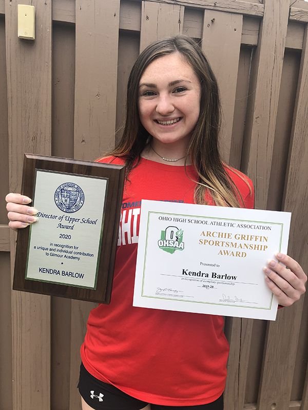 Director of the Upper School Award; OHSAA Archie Griffin Sportsmanship Award