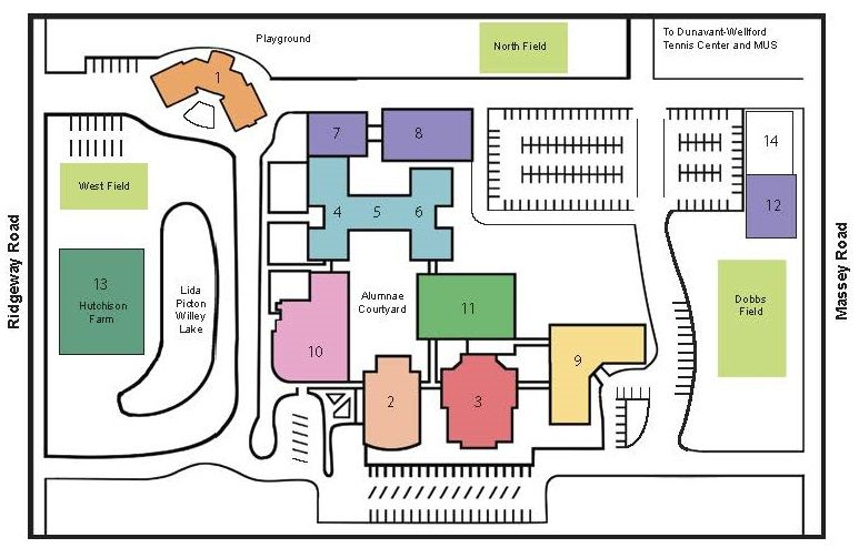 Directions Hutchison School For Girls In Memphis Tn