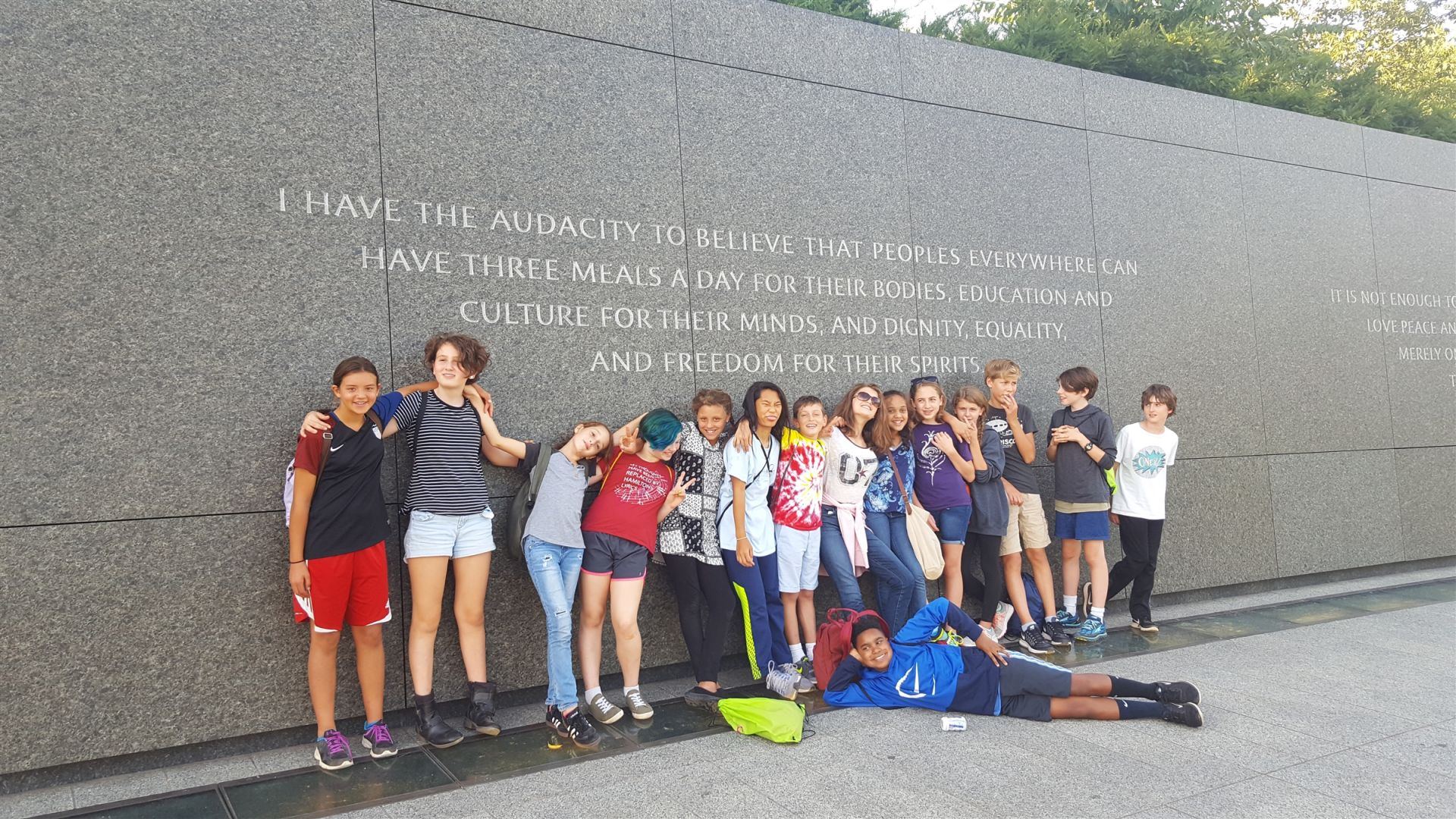 7th visits DC monuments