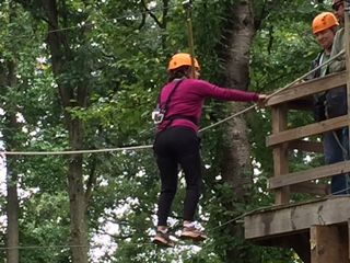 10th on ropes course in Harper