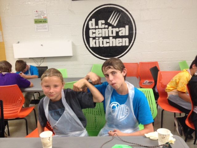 7th serves in DC Central Kitchen