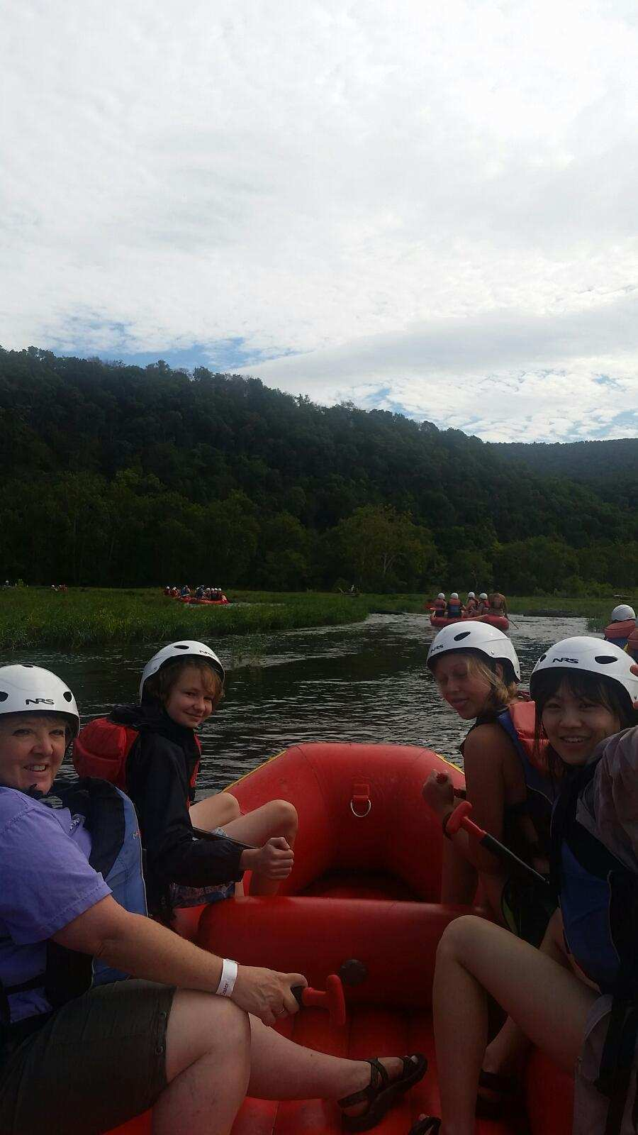 9th whitewater rafting in Harper