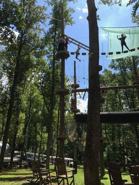 9th ropes course