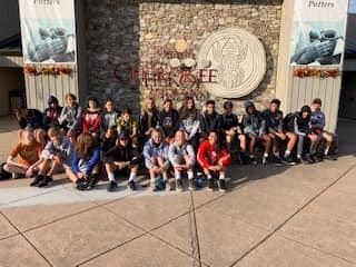 9th grade learns about Cherokee history and culture
