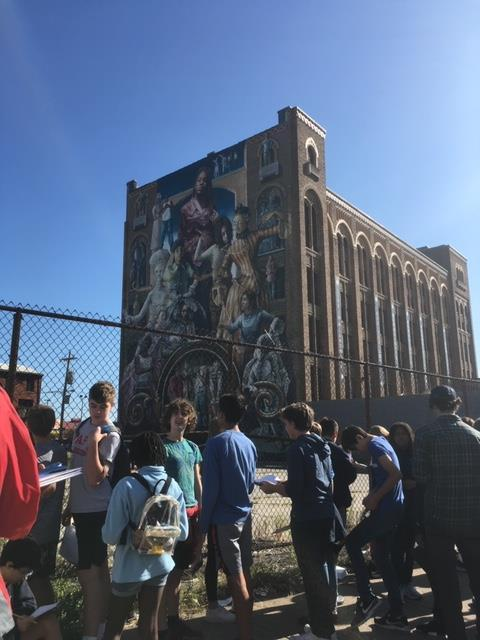 8th grade trip to Philly - Murals