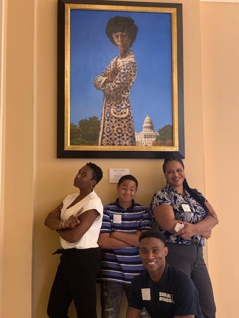 7th grade trip to DC - Portrait Gallery
