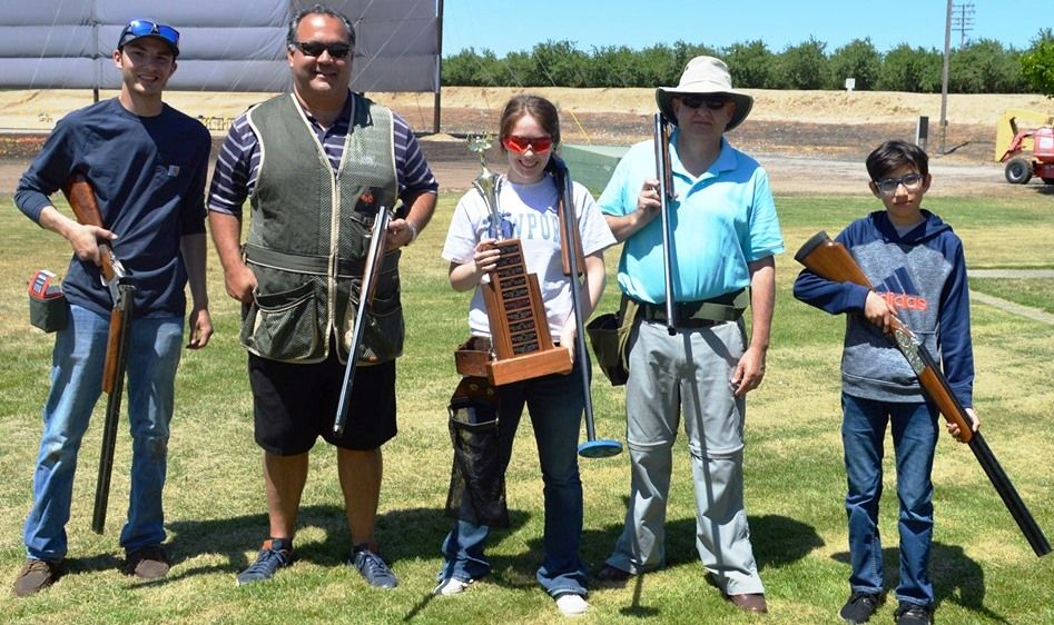 2019 Trap Shoot Winning Team