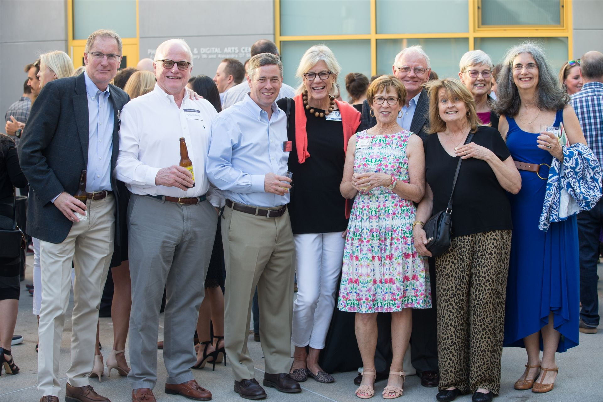 In June, alumni return to CH to celebrate their milestone reunion, connect with friends and teachers, enjoy dinner together, and tour The Arts & Education Center.