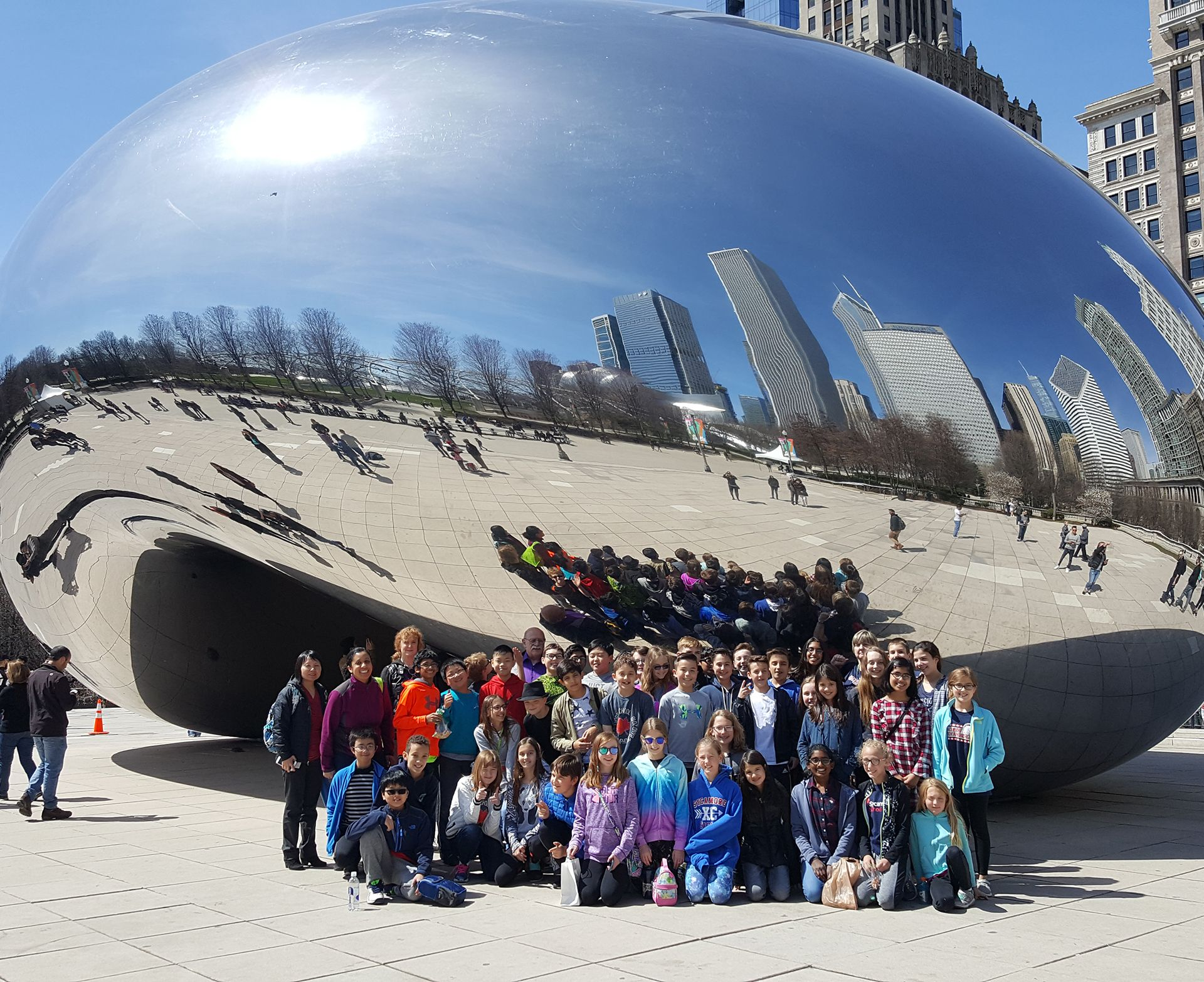 Sycamore 6th grade students travel to Chicago