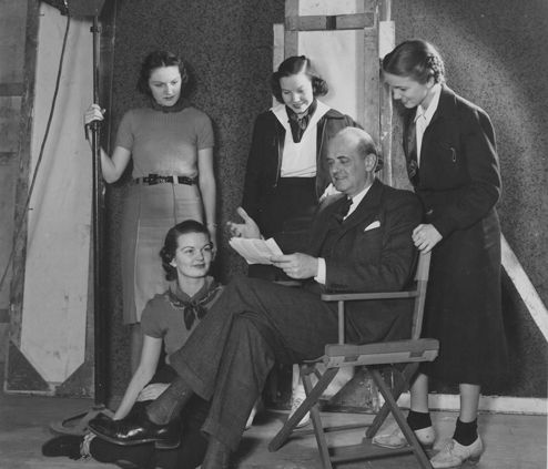 1930s Charles H. Meredith, Head of Drama Department
