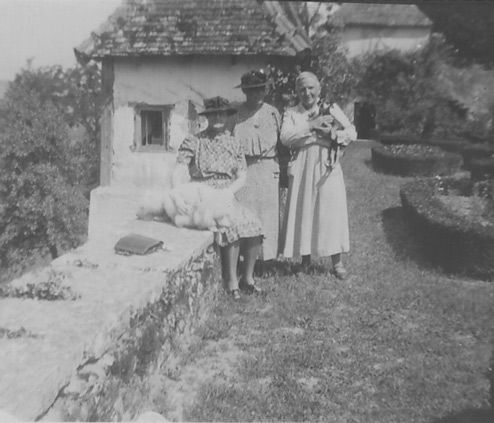 1937 Gertrude Stein and Miriam Morgan Bilignin France