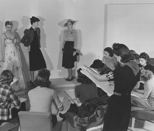 1939 Junior College Art Class