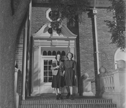 1939 Entrance to Junior College