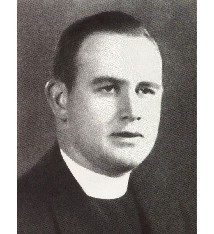 Rev. Francis Desmond- First Principal of SEHS 1940-1945