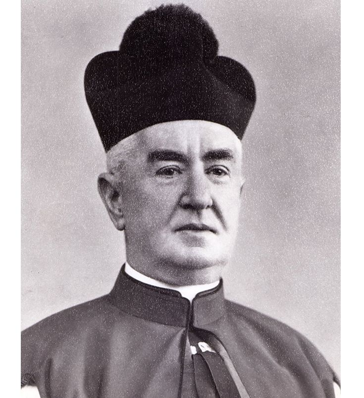 Monsignor James Grant was the second pastor in St. E history.