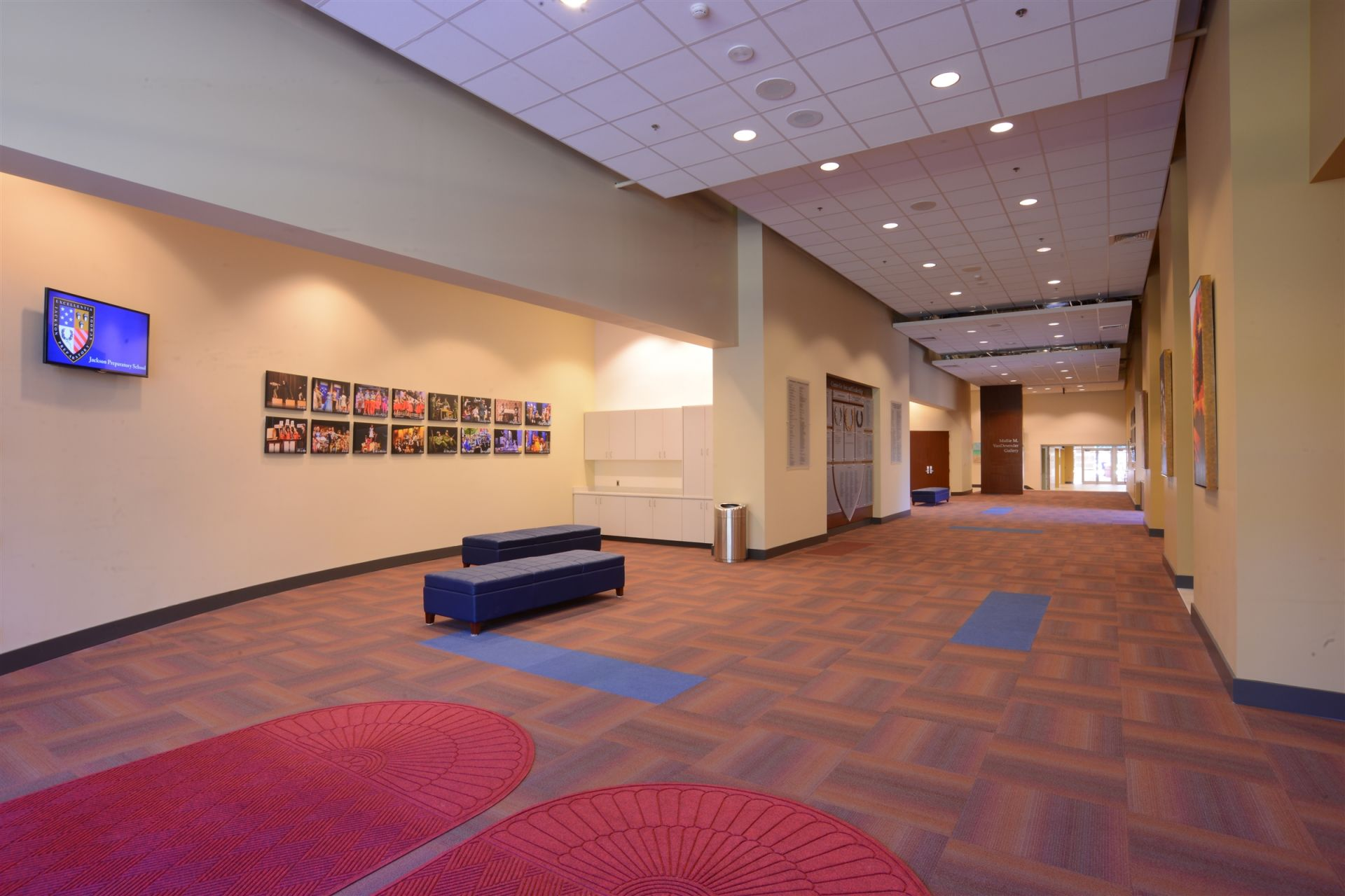 Fortenberry Theatre Lobby