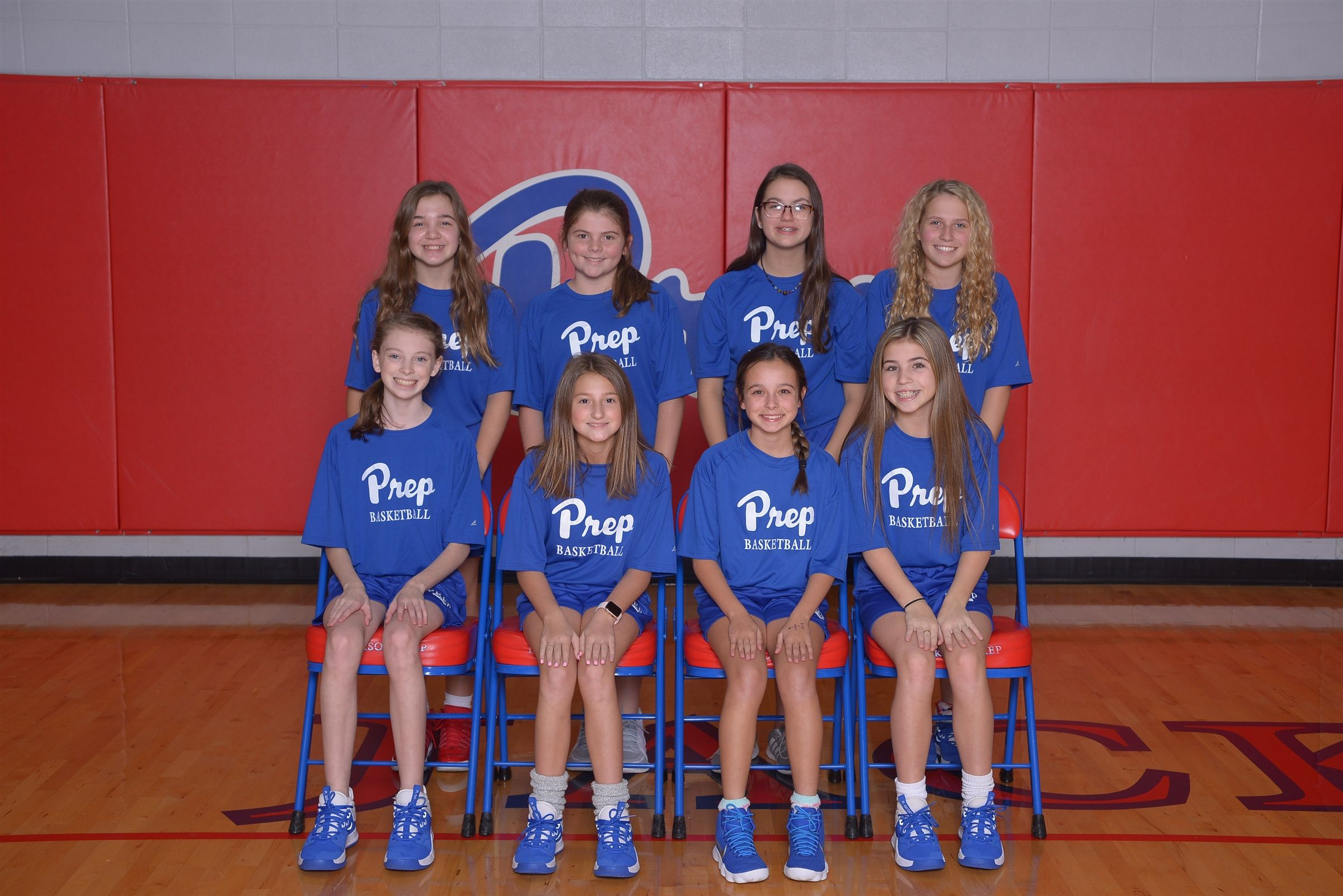 Back row (l to r): Meredith Hawkins, Sarah McKinley, Haley Yelverton, Ella Kincaid  Front row (l to r): McClain Morgan, Lucy Tyra, Abby Duncan, Sailor Hart Simpson (not pictured: Ellie Hederman)