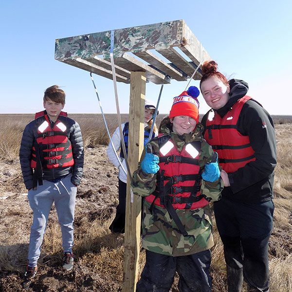 Teaching focuses on watershed, woodland, and habitat protection; resource conservation; and renewable and conventional energy in the classroom and in the field.