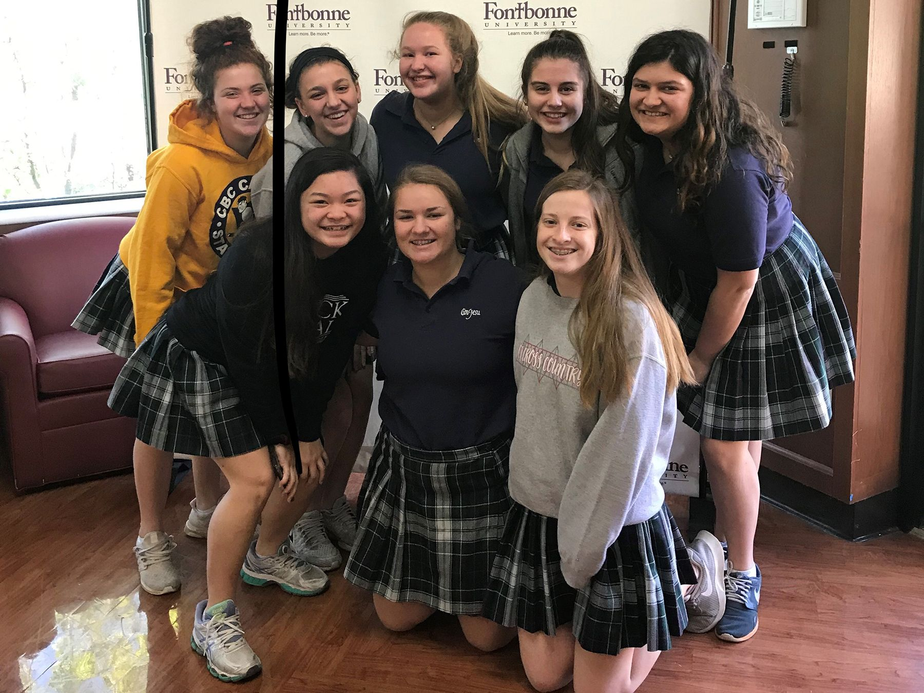 CJ Sophomores at Fontbonne on College visit day
