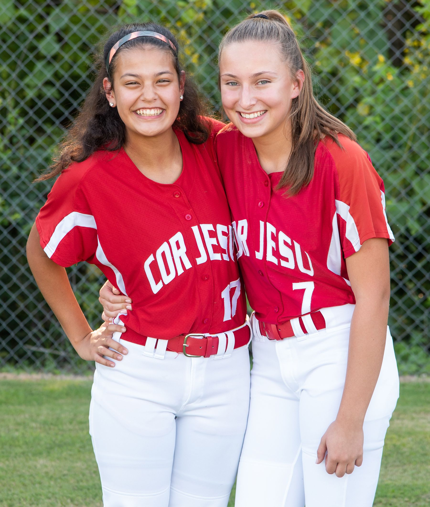 Cor Jesu athletes are friends off the field