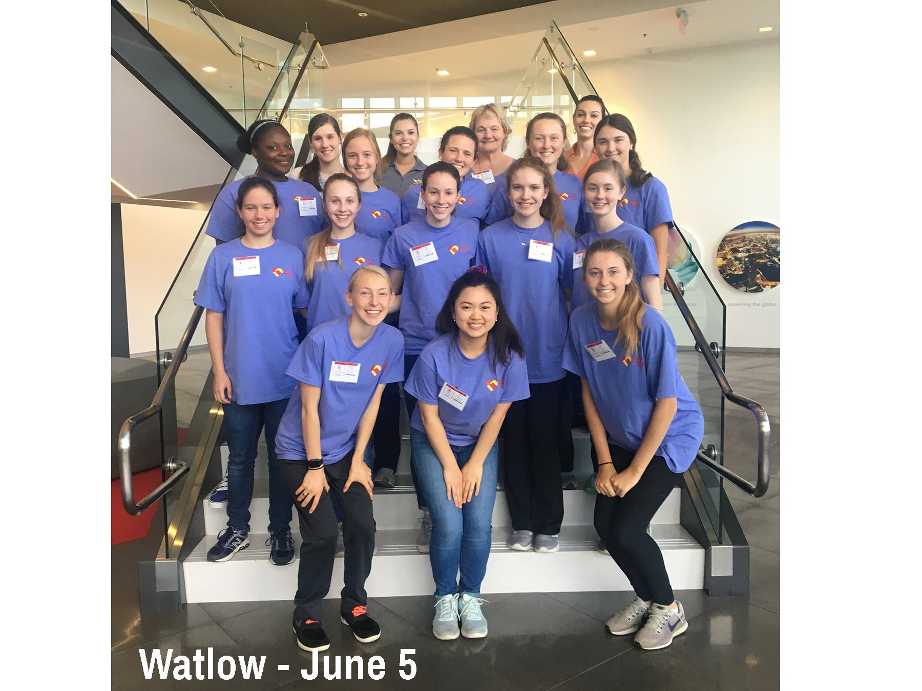 Cor Jesu students visit Watlow to learn about Manufacturing Engineering