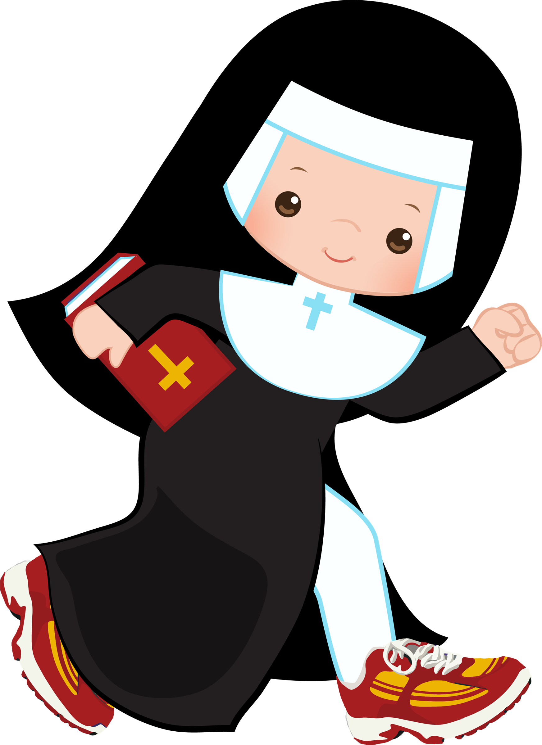Nun Graphic