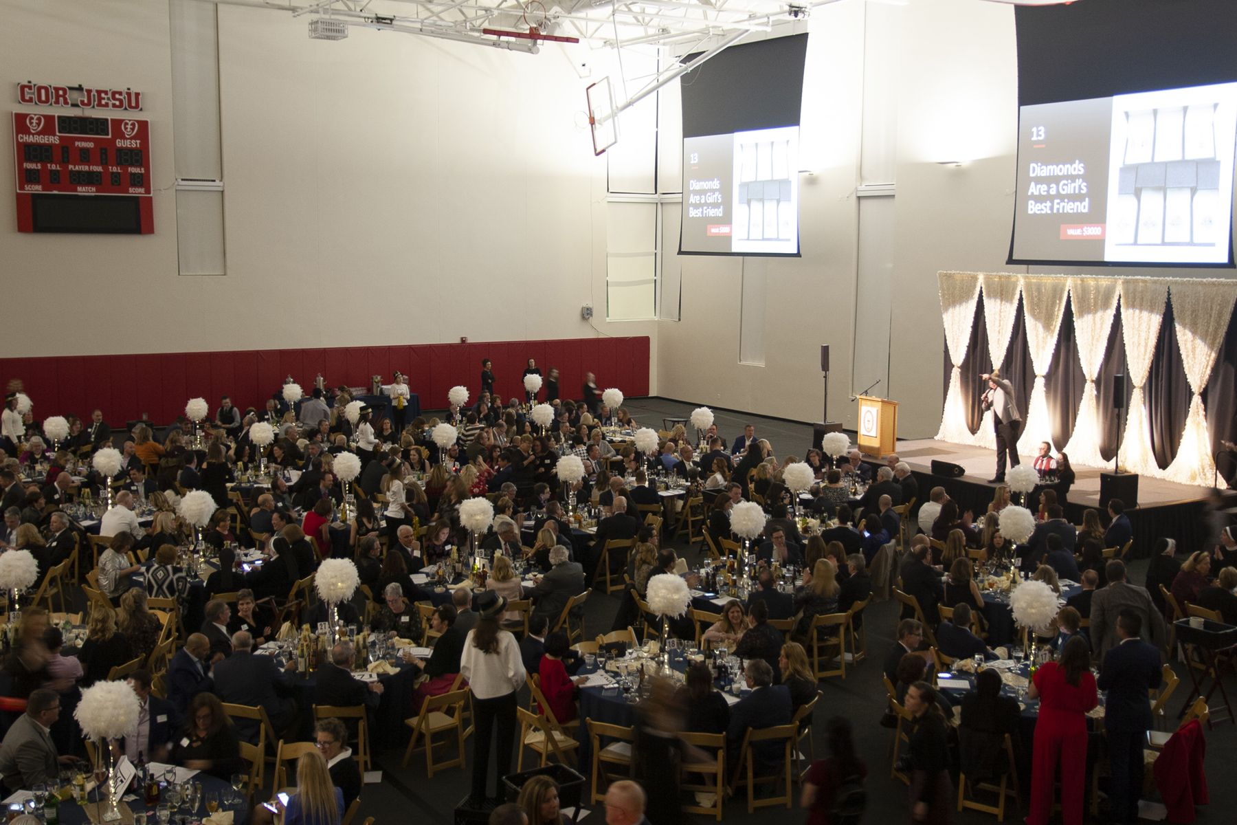 Guests enjoy the 2020 Treasures of the Heart Auction