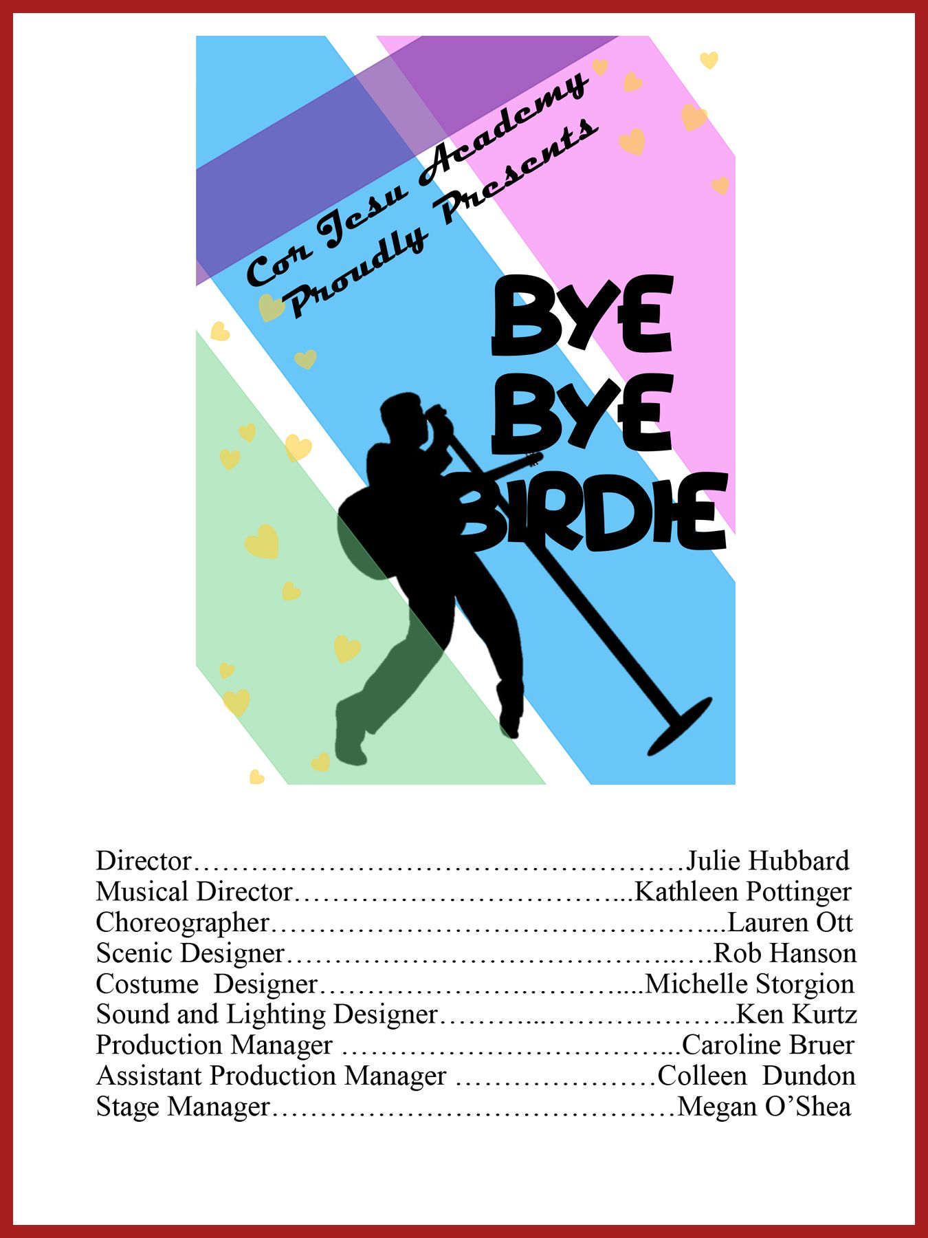 Bye Bye Birdie Cover Artwork