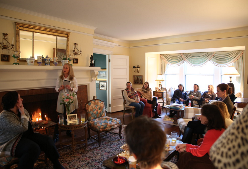 Brown Bag Lunch with Liz Perry January 2016