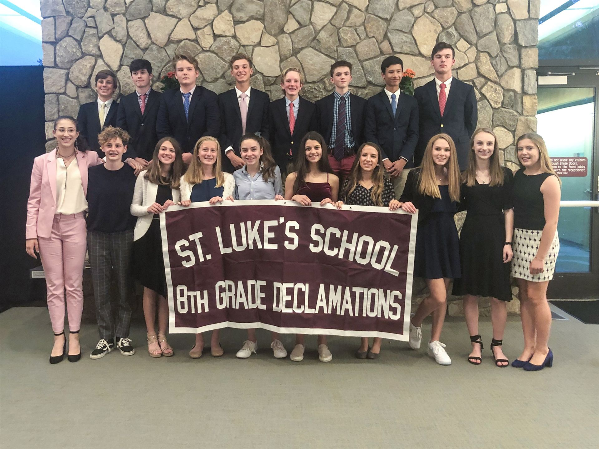 St. Luke's 2019 Declamations